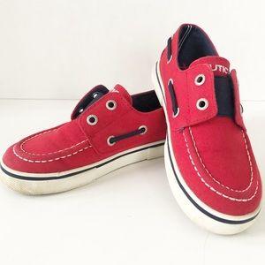 Nautica Slip-on Classic  Canvas Slip-on Boat Shoes